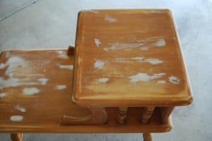how to-spray paint furniture