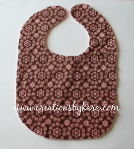 baby bib-tutorial