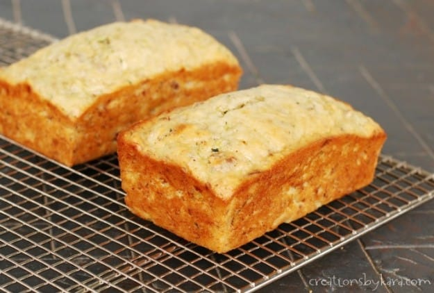 This Banana Zucchini Bread is a delicious way to eat your vegetables!