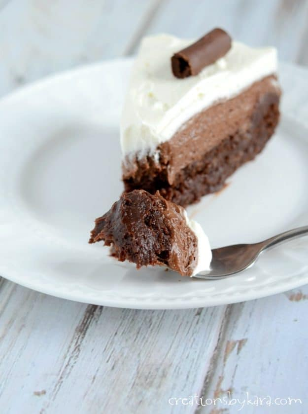 Every bite of this Chocolate Mousse Cake is mouthwateringly delicious! An epic dessert recipe for the true chocolate lover.
