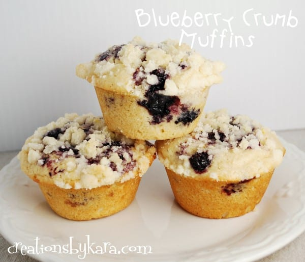 recipe-blueberry muffins