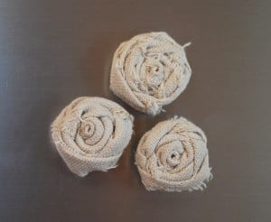 craft project-flower magnets