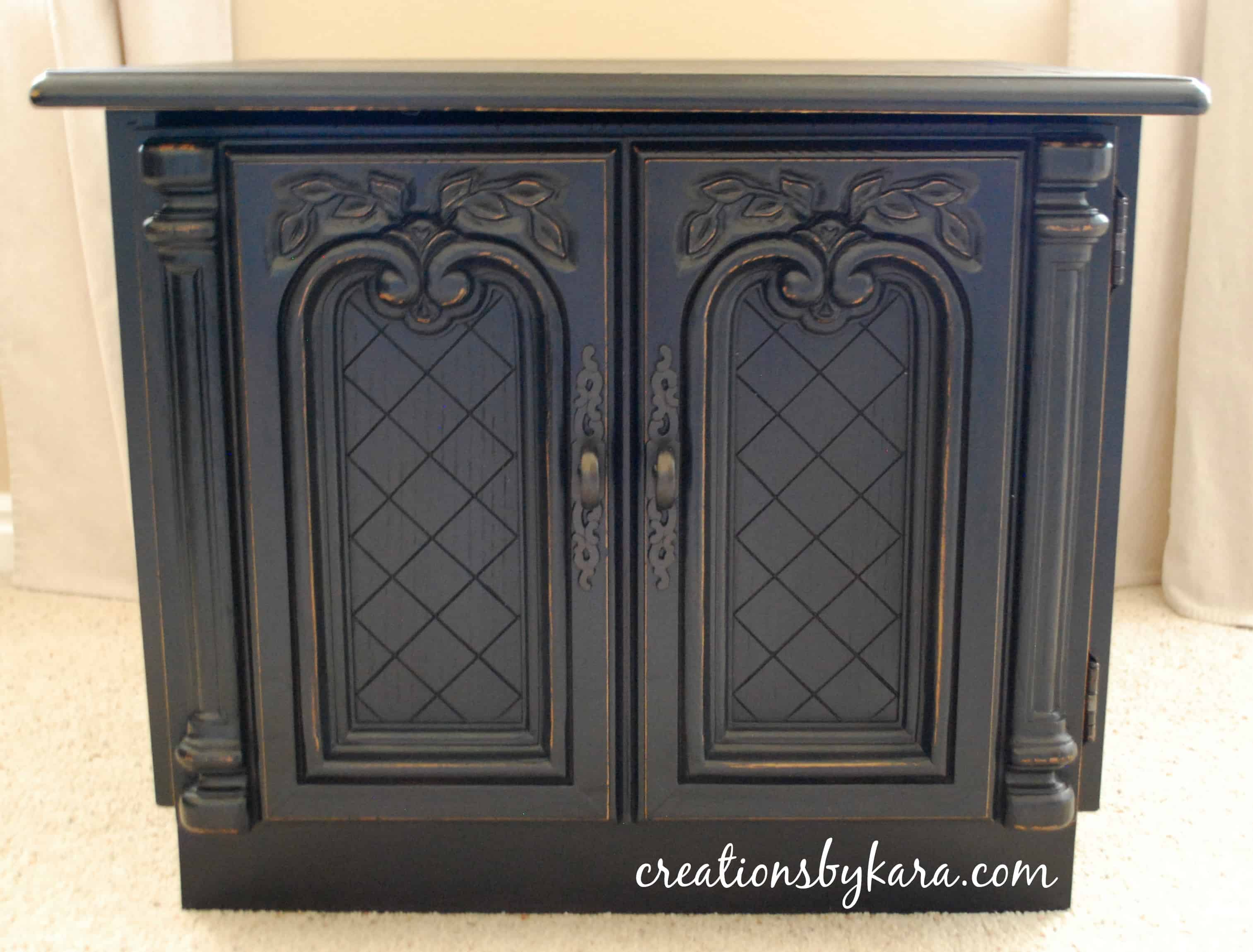 Refinish Old Metal Kitchen Cabinets
