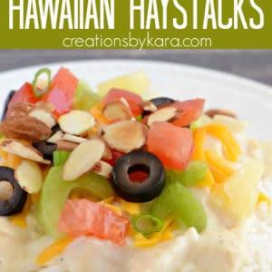 hawaiian haystacks recipe pinterest pin