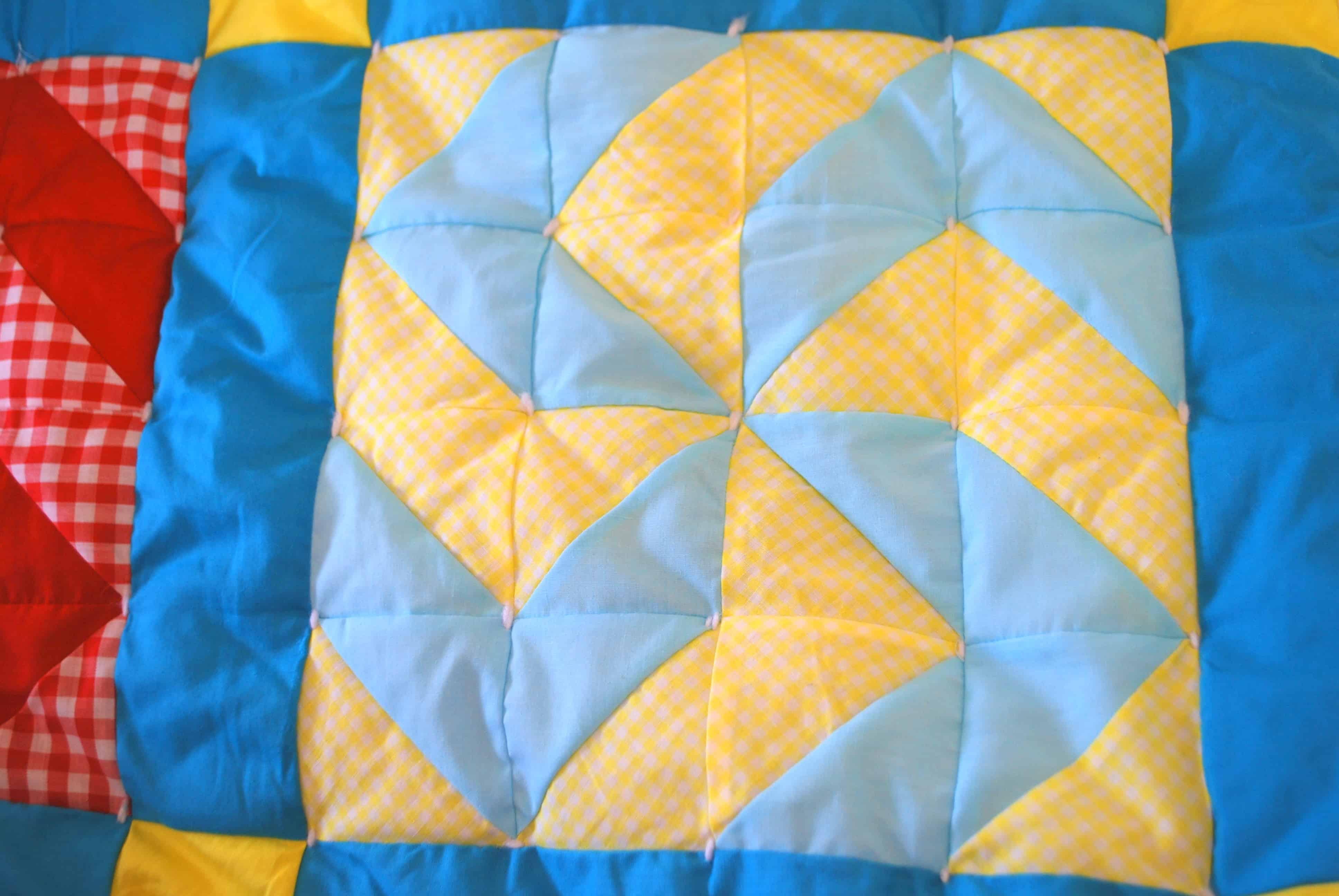 Inside Out Tied Quilt Tutorial : hand tying a quilt - Adamdwight.com