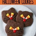 Black Cat Cookies- a perfect Halloween recipe!