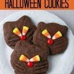Black Cat Cookies- a perfect Halloween recipe!