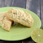 Whip up a batch of these White Chocolate Lime Scones. You are sure to love them!
