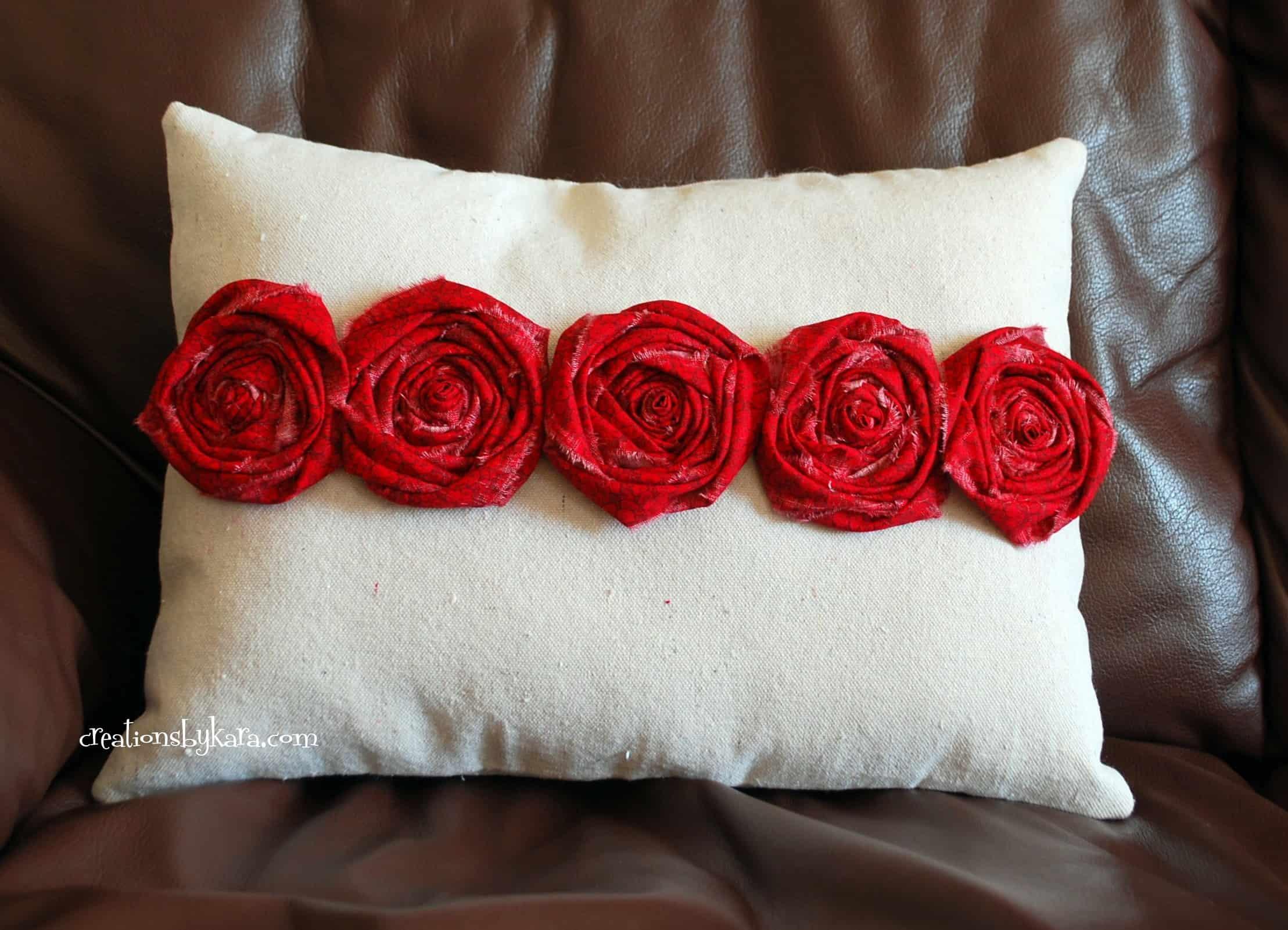 rosette-pillow