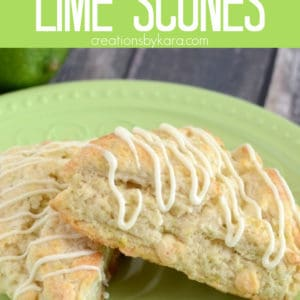 lime scones Pinterest Pin