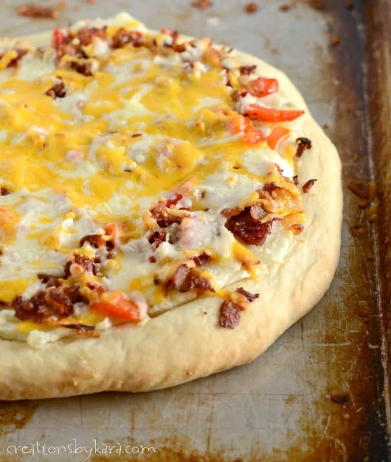 Potato Bacon PIzza Recipe