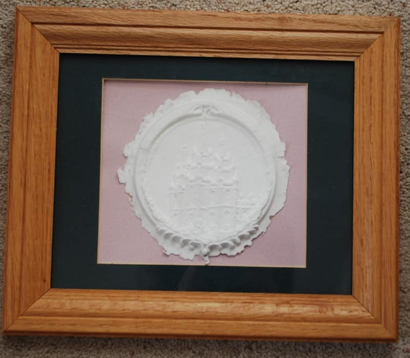 framed-monogram-paper flower