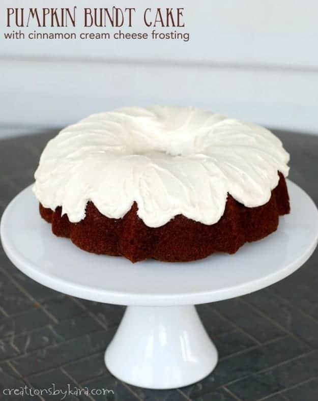 Pumpkin Bundt Cake Pan With Mix