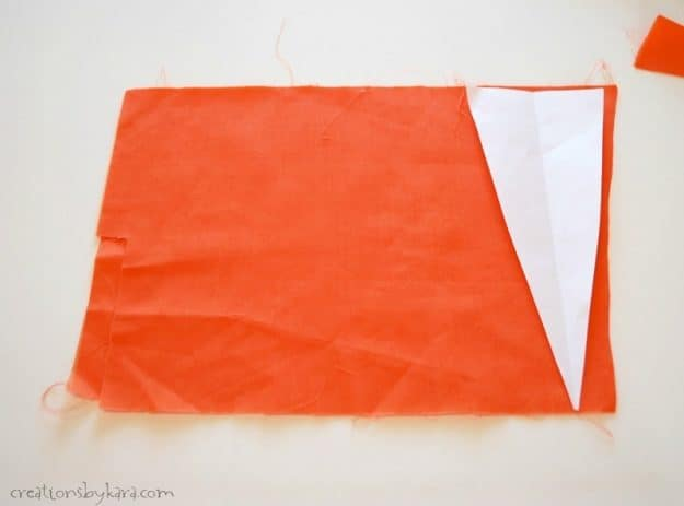 tips for sewing fabric carrots