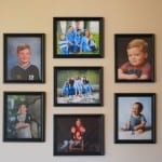 Hanging Pictures 101-How To Hang a Group of Photos
