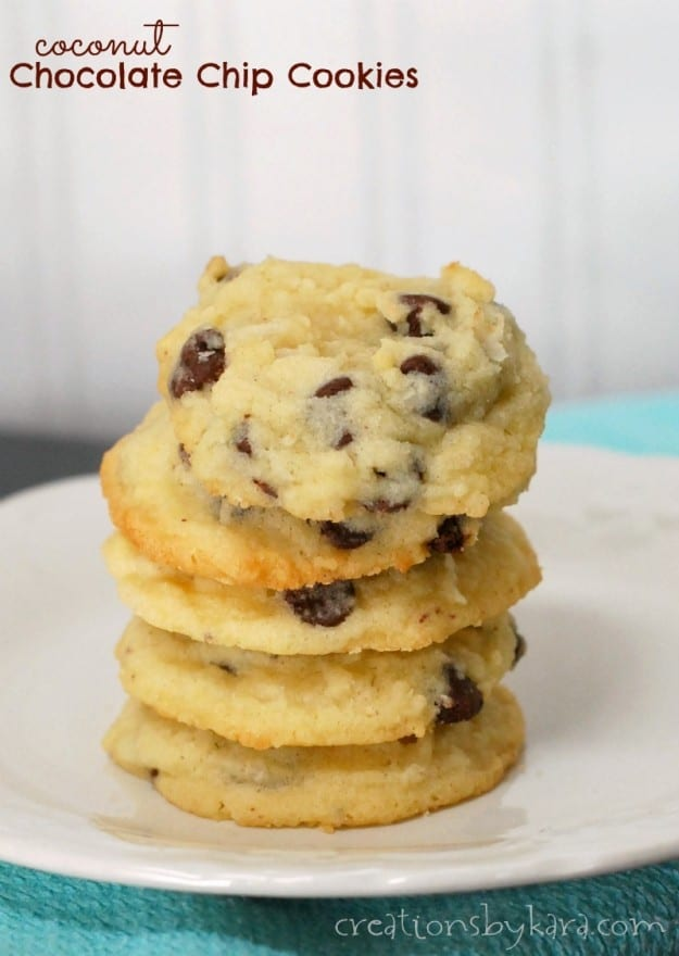 Recipe for Coconut Chocolate Chip Cookies