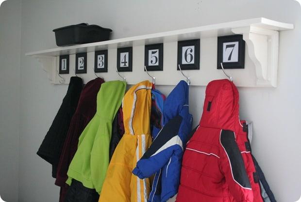 Pretty Coat Rack Creations By Kara
