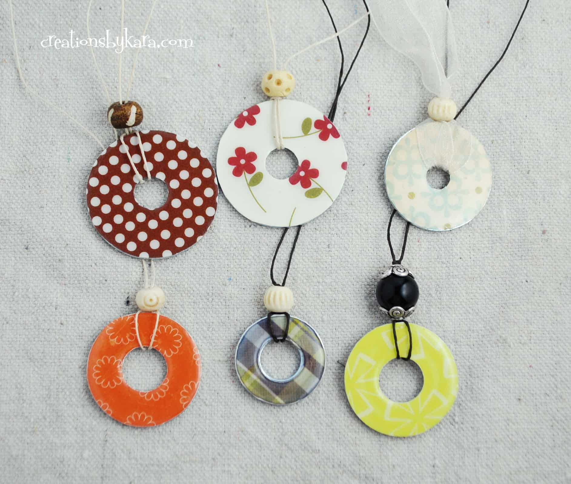 washer necklace tutorial 003 1 creations by kara