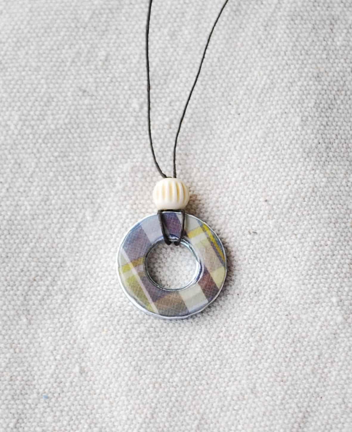 washer necklace tutorial 006 creations by kara
