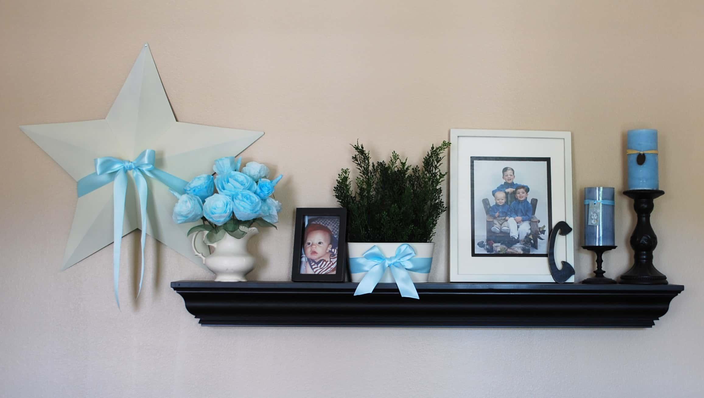 Living Room Shelf 006 Creations By Kara