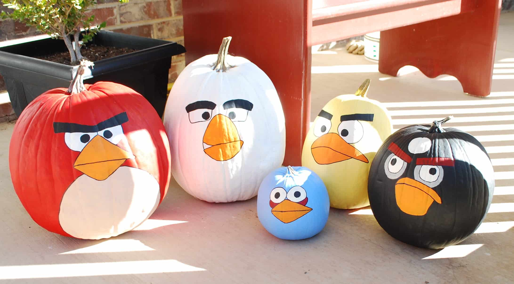 Angry Um I Mean Happy Halloween Angry Birds Pumpkins