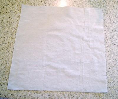 tutorial-make a pillow slipcover