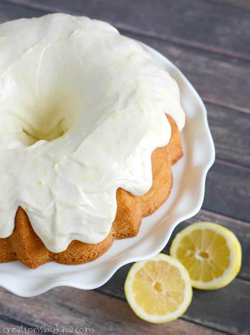 Lemon Cake Recipe By Crystal Carson Rogers