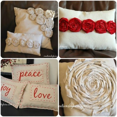 tutorial-make a pillow slipcover