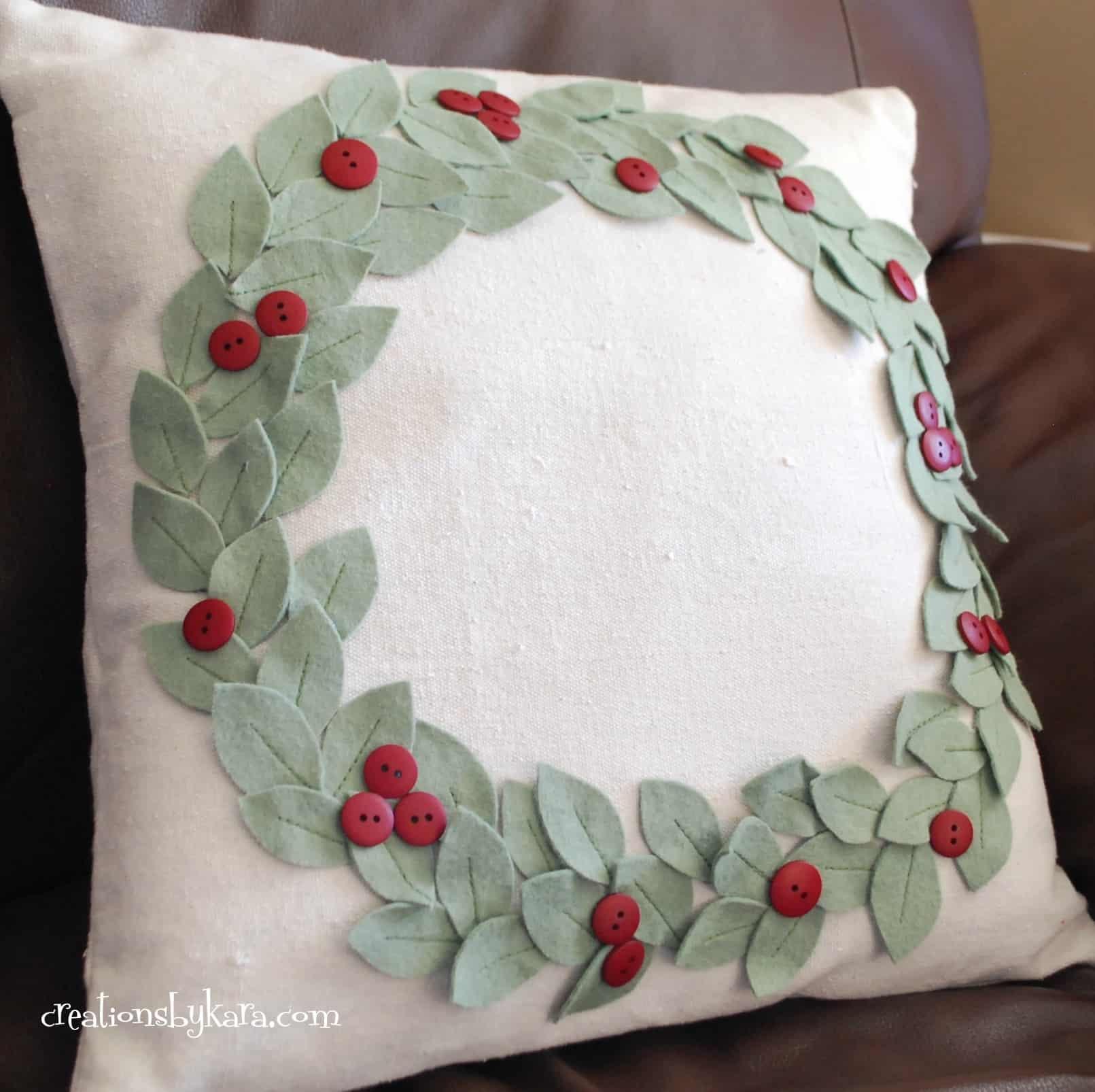 Pottery Barn Knock Off Christmas Pillow Creations By Kara