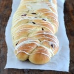 Soft and tender, this cranberry eggnog bread is a must make at our house every holiday season!