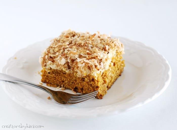 recipe: pumpkin cream cheese coffee cake [29]