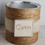 Chore Chart Jars {Tutorial}