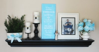 living room-shelf-diy