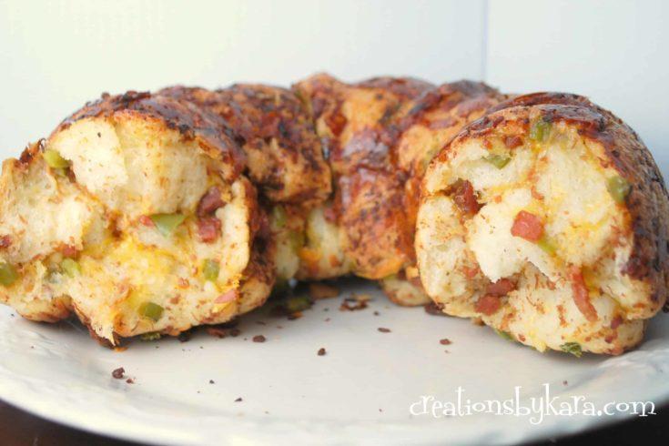 cheesy bacon bread-recipe