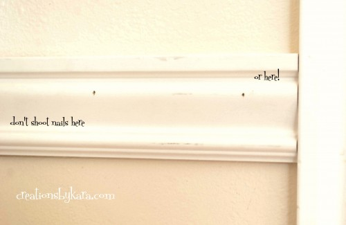 diy-install wainscoting