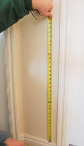 diy-intsall wainscoting