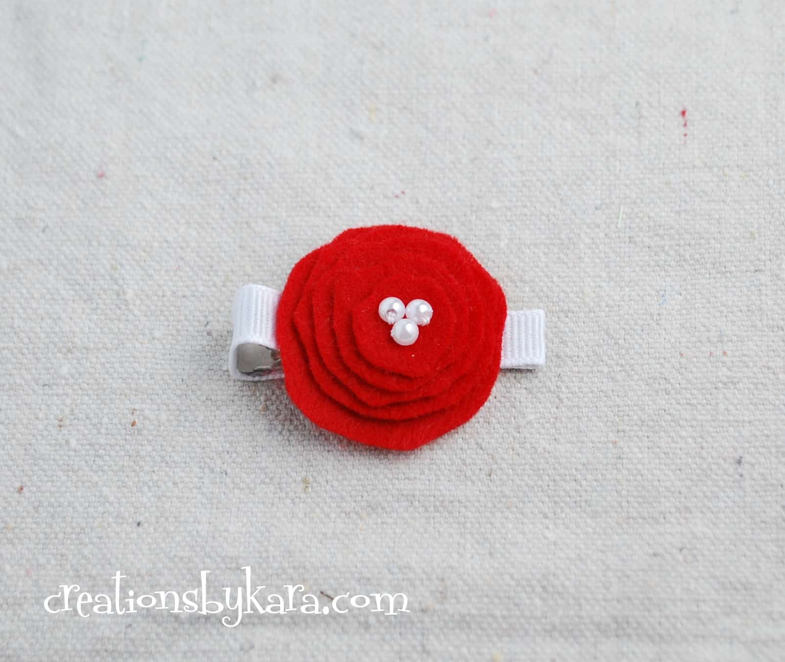 layered felt flower-tutorial
