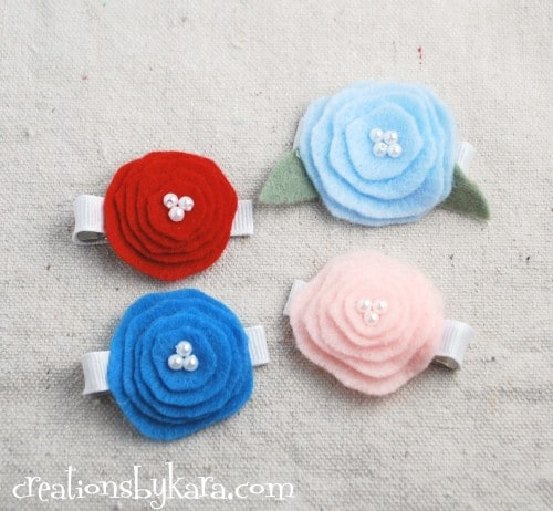felt flower-tutorial
