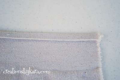 shabby chic ruffle table runner 014