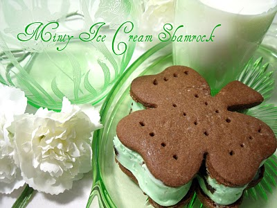 ice cream shamrocks