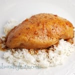 glazed crock pot chicken-recipe