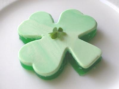 St. Patrick's Day jello
