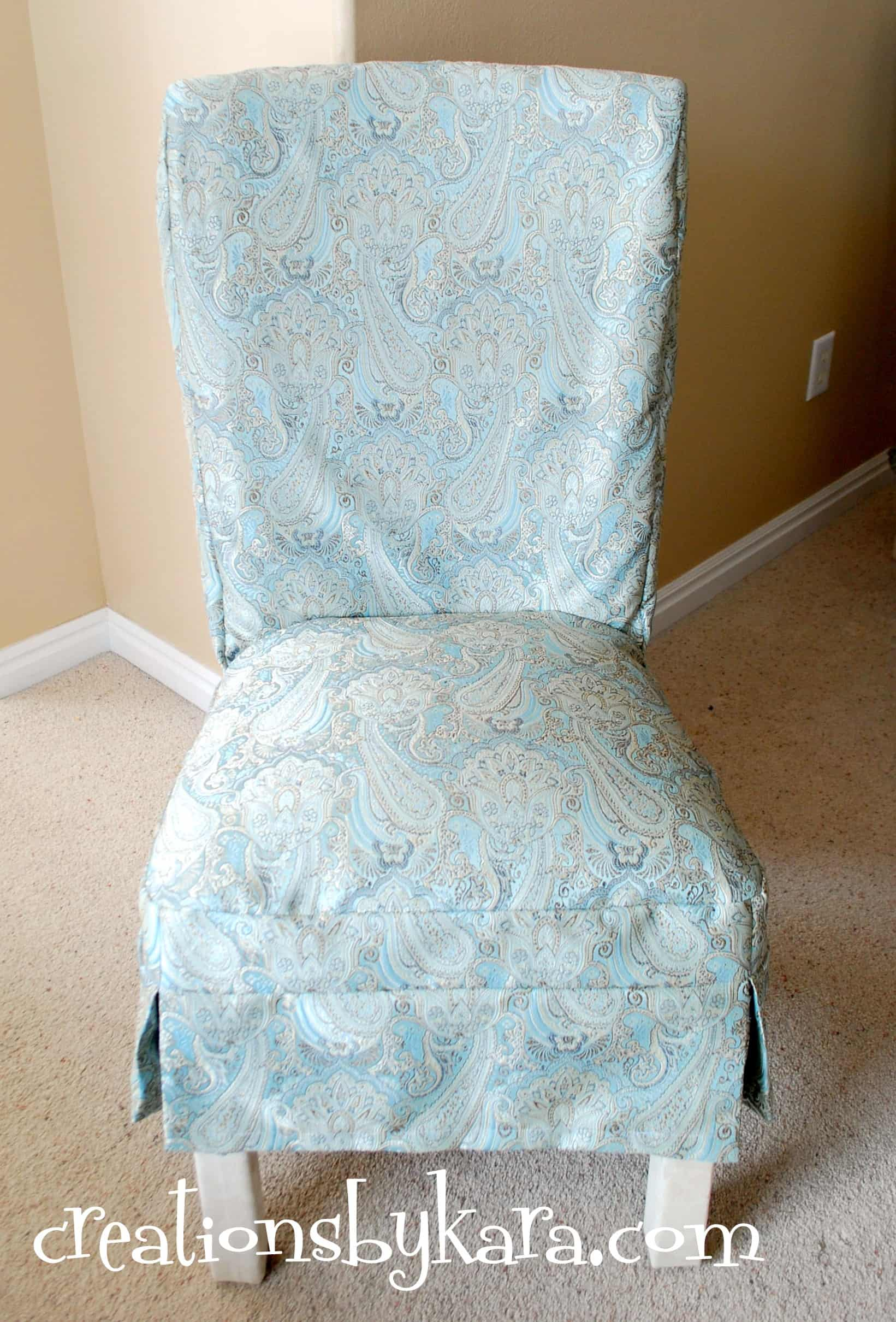 diy chair reupholster