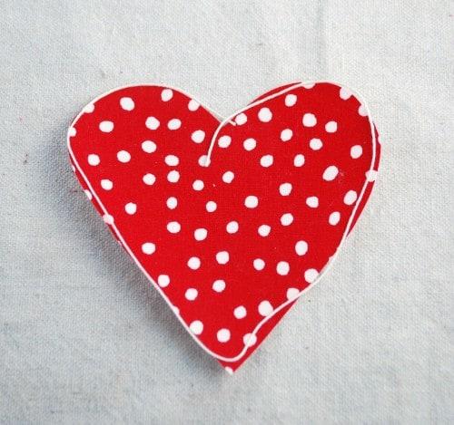 Valentine's Day-ruffle heart shirt