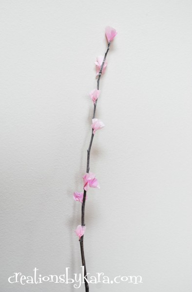 diy cherry blossoms-tutorial