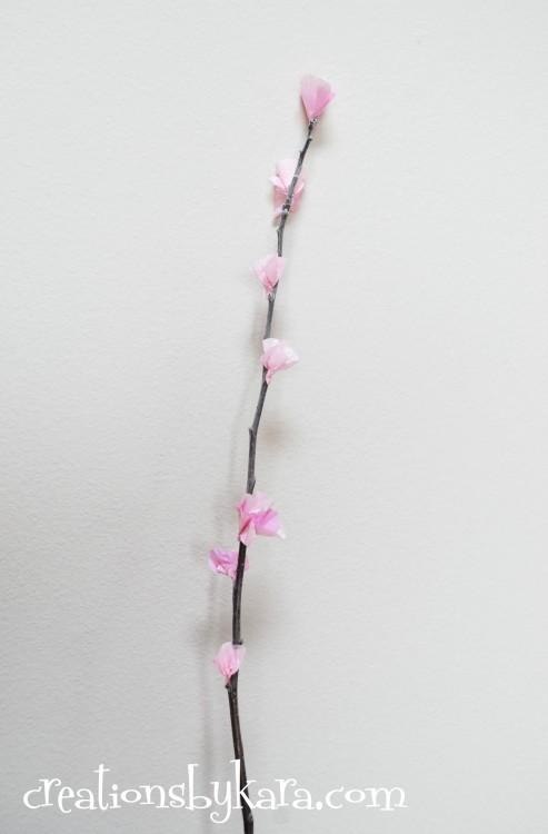 Diy Cherry Blossoms Tutorial