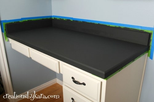 DIY-giani counter paint