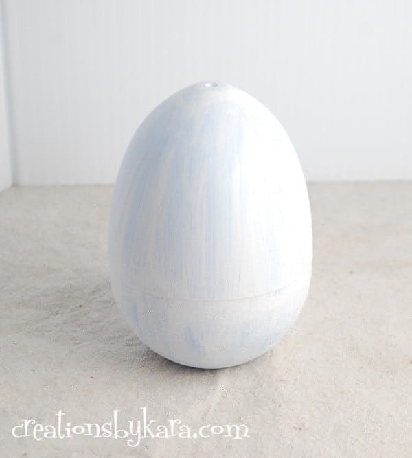 easter craft-trash to treasure easter egg