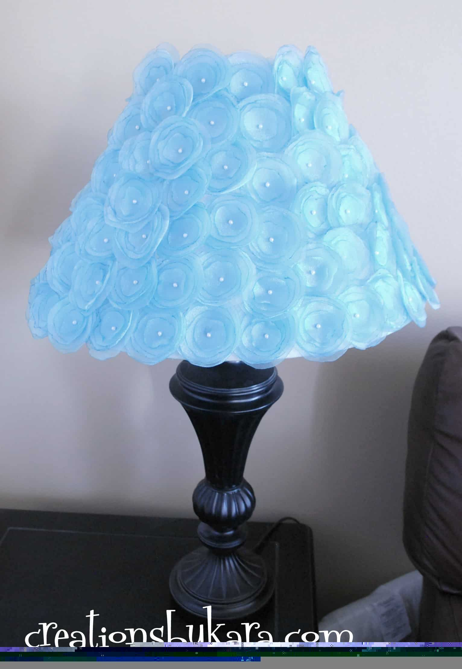 Diy lampshade 011 creations by kara - Diy lamp shade ...