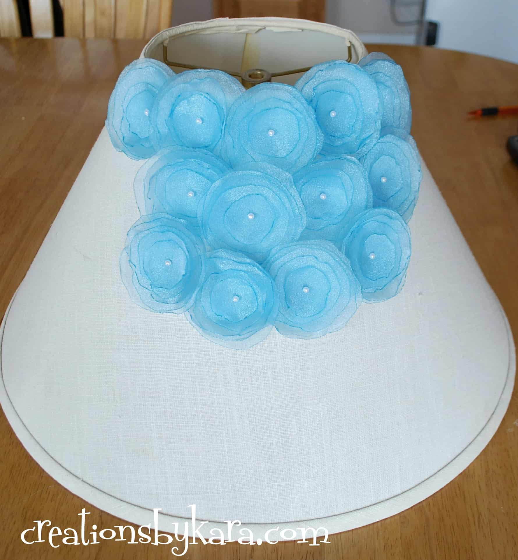 Diy Project Flower Lampshade